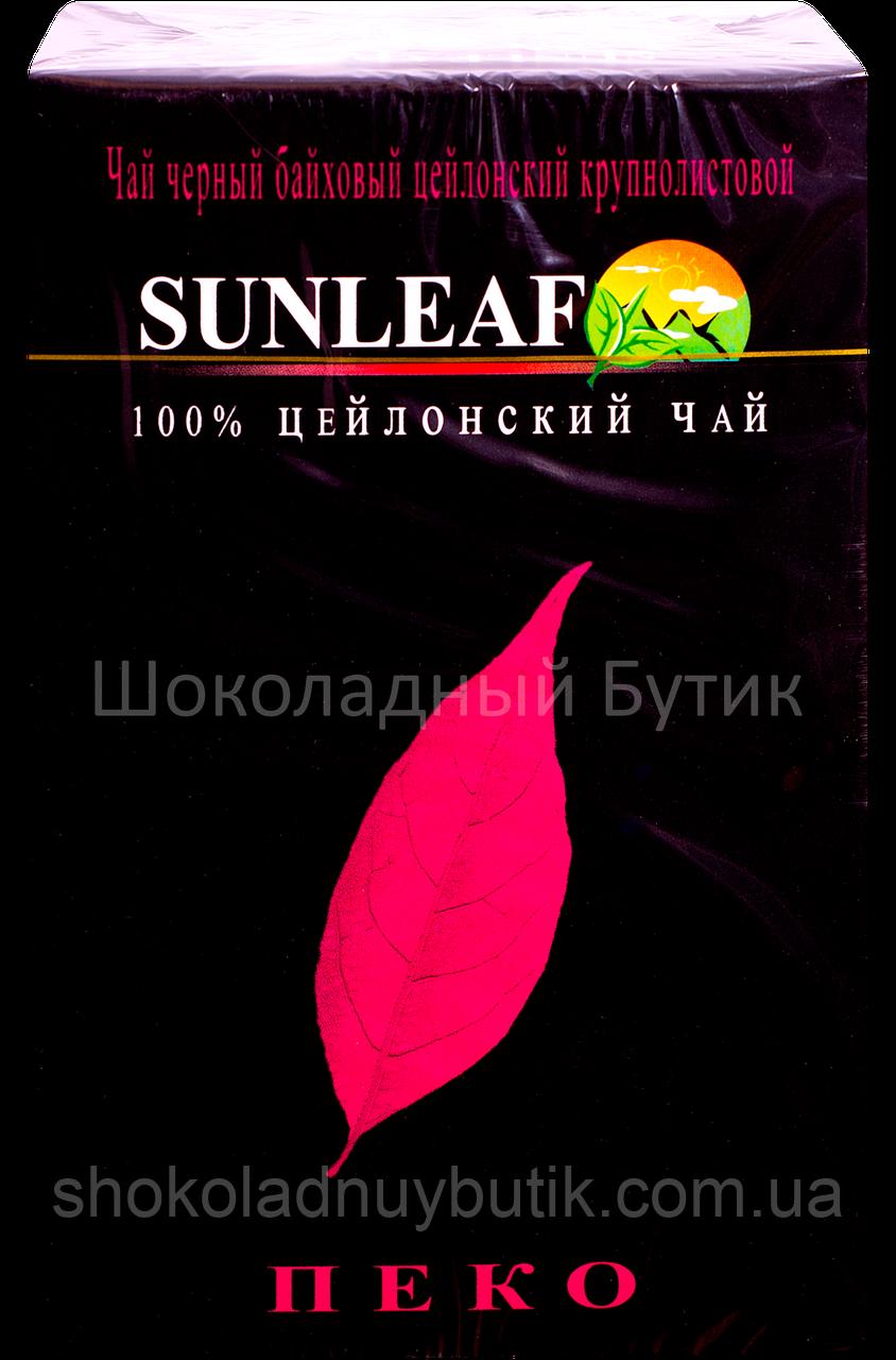 Чай SUNLEAF Pekoe, черный, 100г.