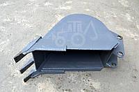 Ковш 3 зуба объем 0.18 куб, ширина 400 мм