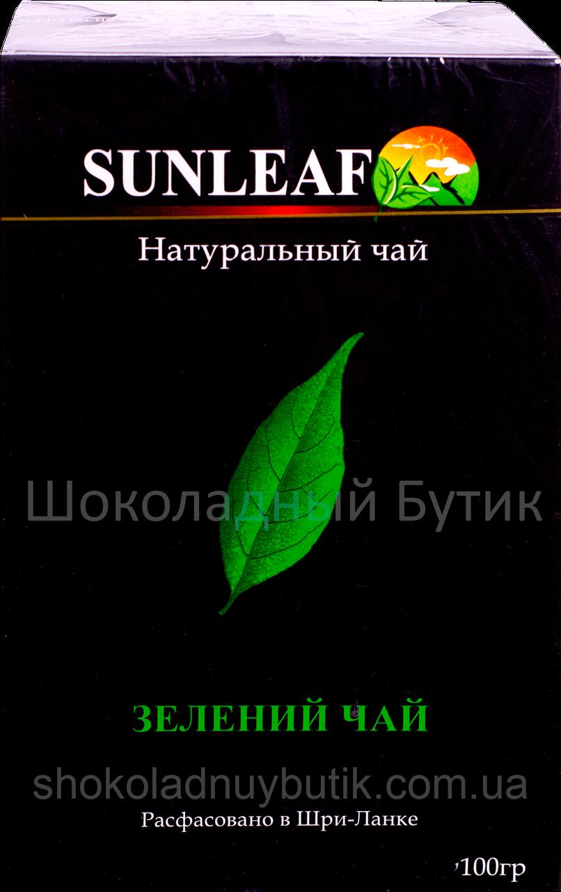 Чай SUNLEAF, зеленый, 100г.