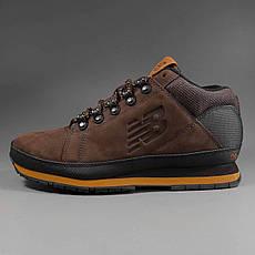 Ботинки h754by new balance мужские (нубук) оригинал, фото 3