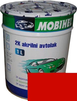 """Автокраска Mazda SQ Эмаль акриловая Helios Mobihel """"Mazda SQ"""" 1л без отвердителя"""