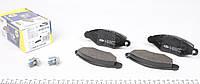 Колодки тормозные (передние) Renault Kangoo, Рено Кенго 1.5dCi, 1.6 98- (Bosch, Bendix) 181217-702