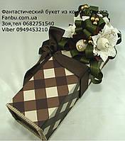 """Подарочная коробочка со сладостями и кофем""""Давидофф"""""""", фото 1"""
