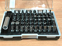 Набор бит с магнитным держателем, CrV, 61шт  MTX 113879