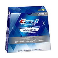Упаковка полосок для отбеливания зубов Crest Whitestrips 3D White Supreme FlexFit