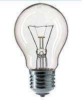 Лампа накаливания PHILIPS А55 100W E27 прозрачная CL