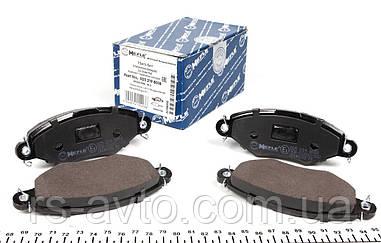 Колодки тормозные (передние) Renault Kangoo, Рено Кенго 98- (Bosch) 025 219 8018