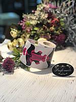 Формы бабочка розовые