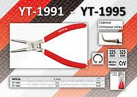 Съёмник внутренних стопорных колец загнутый L= 225мм, YATO YT-1991