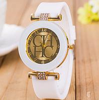 Наручные часы женские с белым ремешком код 321