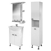 Комплект мебели для ванной комнаты Жемчуг 1-60-3-60 ВанЛанд