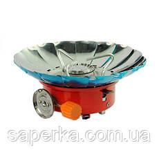 Плитка туристическая газовая Kovar ZT-203 (Ветрозащитная), фото 2