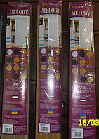 Двери раздвижные гармошка Vinci Decor MELODY 82х203 см