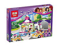 Конструктор Lepin Girls Club 01051 Магазин с замороженным йогуртом в Хартлейк (аналог Lego Friends 41320)
