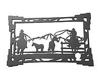 Картины из металла на заказ «Кавбой»