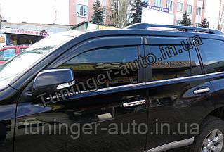 Ветровики,дефлекторы окон Toyota Land Cruiser Prado 150 2009- (Hic)