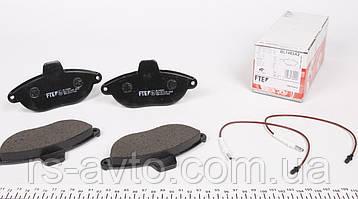 Колодки тормозные (передние) Fiat Scudo, Фиат Скудо , Peugeot Expert 96- (с датчиком) BL1482A2, фото 2