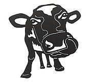 """Художественно-декоративная плазменная резка металла """"Корова"""""""