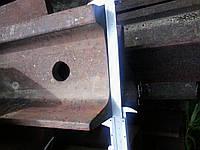 Рельс Р65 старопригодний железнодорожний 6-9мм