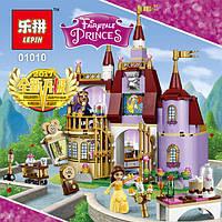 Конструктор Lepin Princess / Принцессы 01010 Заколдованный замок Белль (аналог Lego Disney Princess 41067)