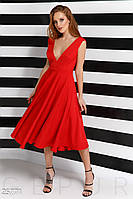 Яркое платье А-силуэта Gepur 25771