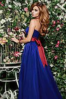 Платье со шлейфом Gepur 9885
