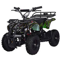 Детский Квадроцикл Profi 800N-NEW5 зеленый