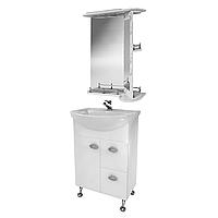 Мини-комплект мебели для ванной комнаты Жемчуг 3-65-3-65 ВанЛанд