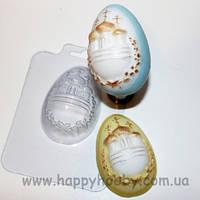 """Форма для мыла пластиковая """"Яйцо с куполами"""""""