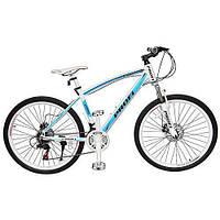 Cпортивный велосипед 26д PROFI EXPERT 26.1M размер рамы 17д бирюзово-белый