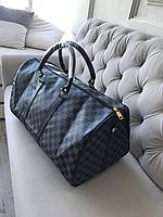 Сумка дорожная/спортивная Louis Vuitton ( Луи Витон) monogram black