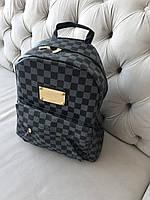 Стильный Рюкзак LV Louis Vuitton  (реплика Луи Витон) Monogram Black