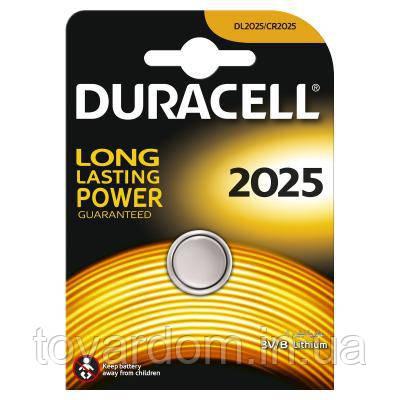 Батарейка Duracell CR 2025 / DL 2025 * 1 (81469148)
