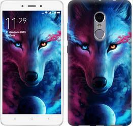 "Чехол на Xiaomi Redmi Note 4 Арт-волк ""3999c-352-328"""