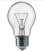 Лампа накаливания PHILIPS А55 40W E27 прозрачная CL