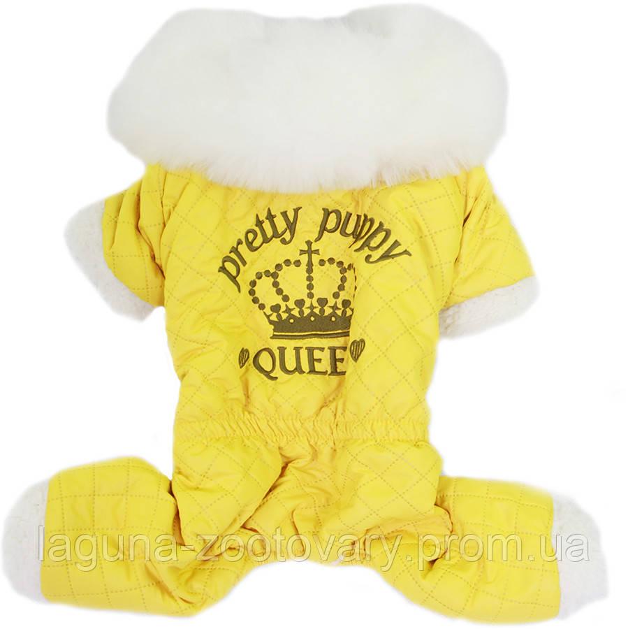 Комбінезон для собак NEW PRETTY PUPPY, лимон, розмір S, M, L, XL, 2XL