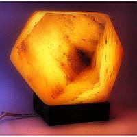 Соляная лампа (SL-15) 3,8кг граненый (Гималайская соль)