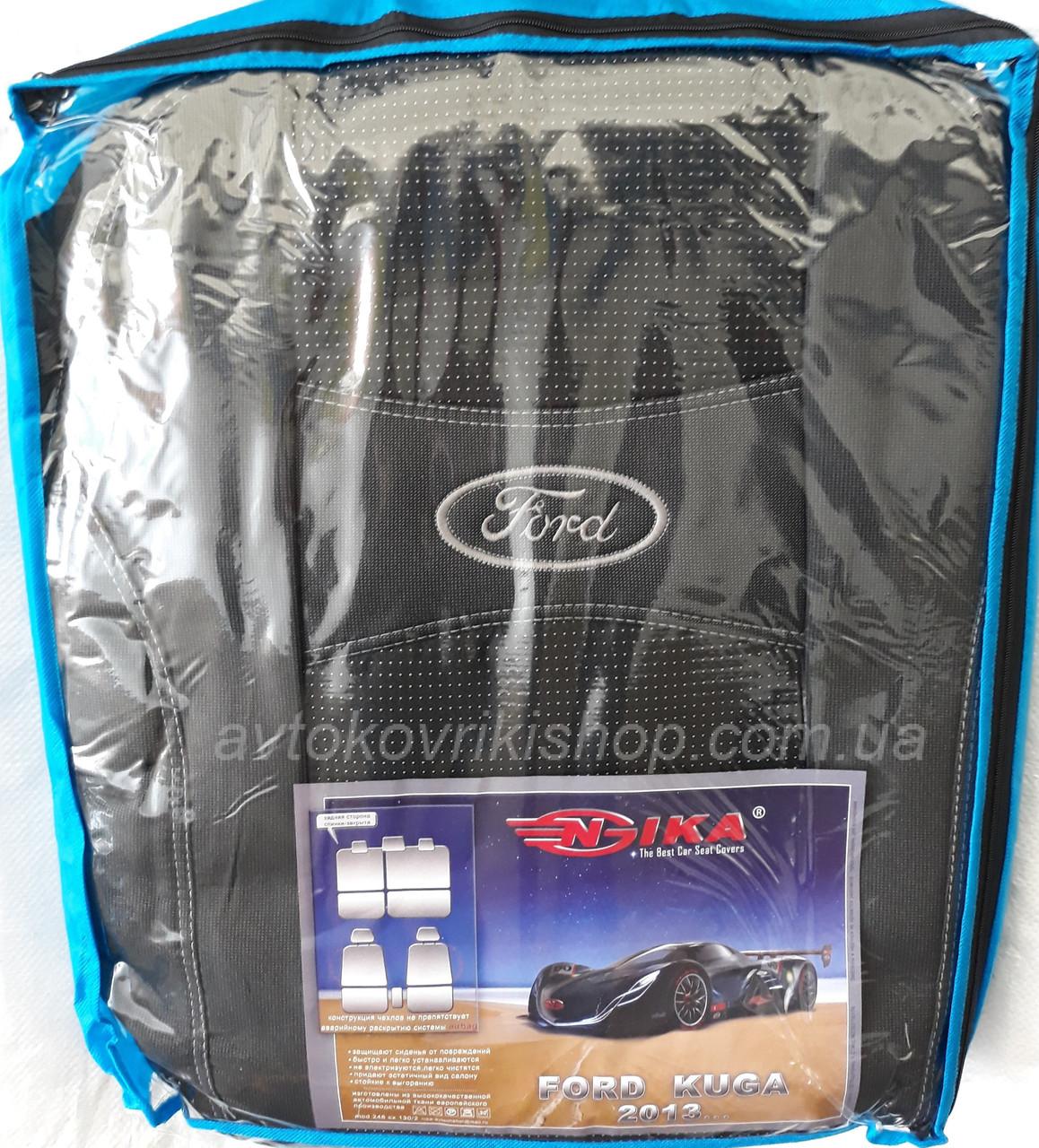 Автомобильные чехлы Ford Kuga 2013- Nika