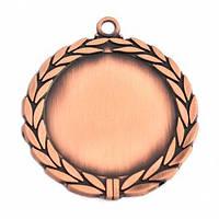 Медаль наградная бронза 70 мм