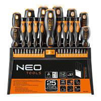Набор инструментов NEO отверток и насадок 37 шт. (04-210)