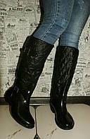 Утепленные непромокаемые сапоги женские размер 36