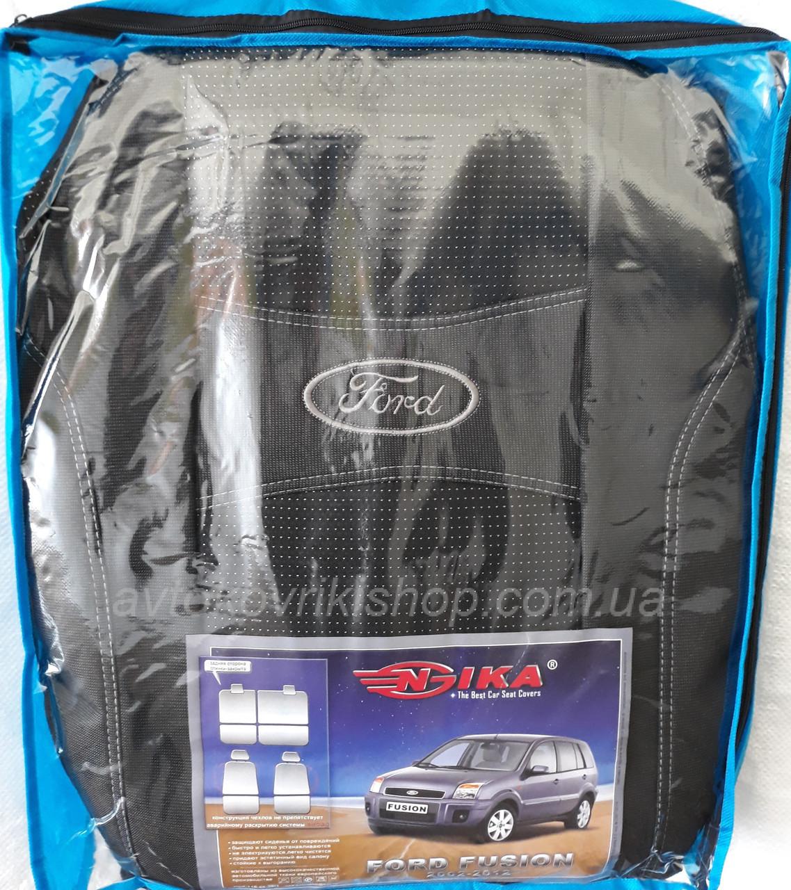 Автомобильные чехлы Ford Fusion 2002-2012 Nika