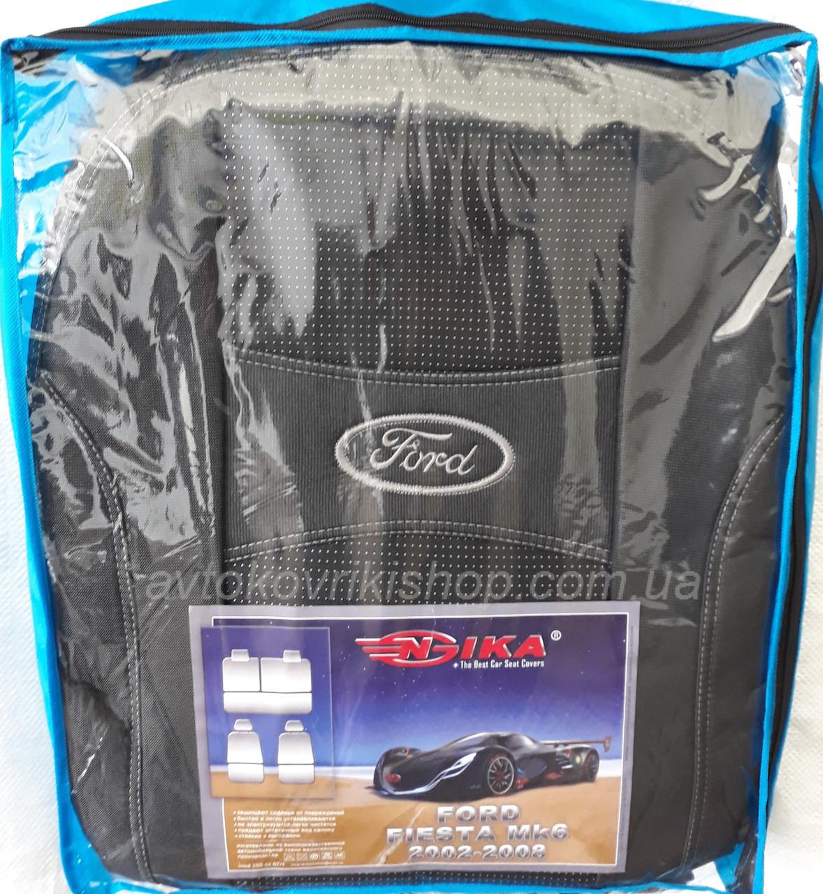 Автомобильные чехлы Ford Fiesta MК 6 2002-2008 Nika