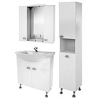 Комплект мебели для ванной комнаты Жемчуг 1-80-1-80 ВанЛанд