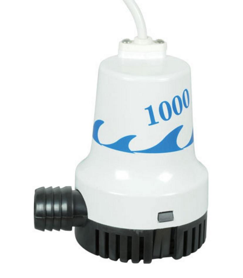 Помпа для відкачування трюмна 1000GPH 12V WW-05806