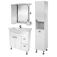 Комплект мебели для ванной комнаты Жемчуг 3-80-3-80 ВанЛанд