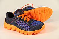 Летняя детская спортивная обувь из натуральной кожи ДФ 01 O/B