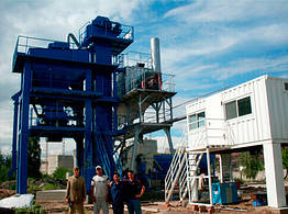 Стационарный асфальтобетонный завод CL-700 CA-LONG