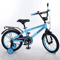 Двухколесный велосипед 14 дюймов PROF1 T1474 Forward,голубой