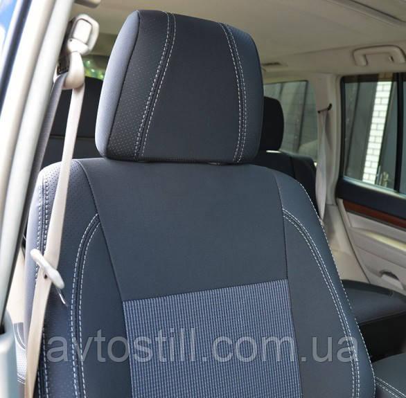Чохли для Mitsubishi Pajero Wagon 4 2006 - 2018